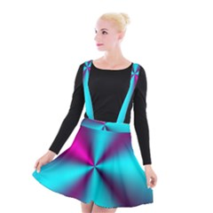 Silk Illusions Suspender Skater Skirt