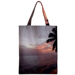 Sunset In Puerto Rico  Zipper Classic Tote Bag
