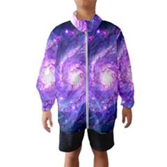 Ultra Violet Whirlpool Galaxy Wind Breaker (kids)