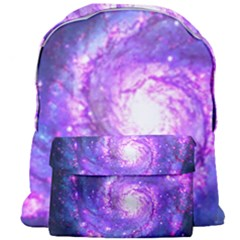Ultra Violet Whirlpool Galaxy Giant Full Print Backpack