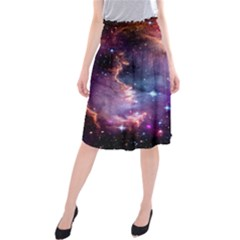 Deep Space Dream Midi Beach Skirt