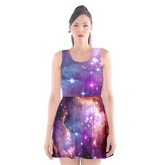 Deep Space Dream Scoop Neck Skater Dress