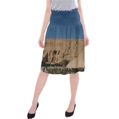 Abu Simble  Midi Beach Skirt