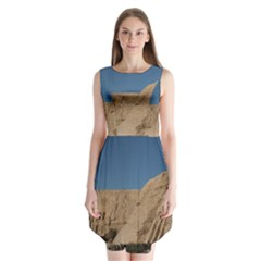 Abu Simble  Sleeveless Chiffon Dress
