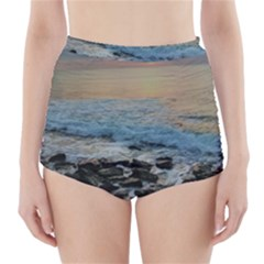 Aquadillia Puerto Rico  High Waisted Bikini Bottoms