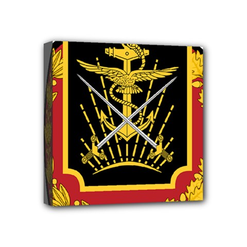Logo Of Imperial Iranian Ministry Of War Mini Canvas 4  X 4