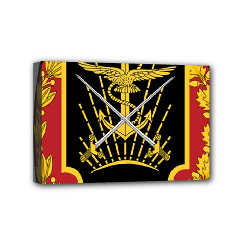 Logo Of Imperial Iranian Ministry Of War Mini Canvas 6  X 4