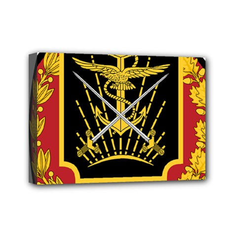 Logo Of Imperial Iranian Ministry Of War Mini Canvas 7  X 5