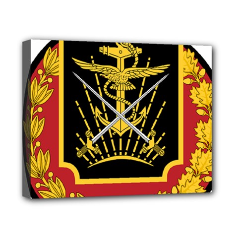 Logo Of Imperial Iranian Ministry Of War Canvas 10  X 8