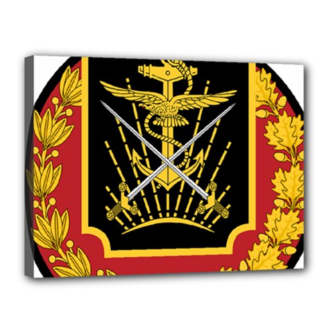 Logo Of Imperial Iranian Ministry Of War Canvas 16  X 12