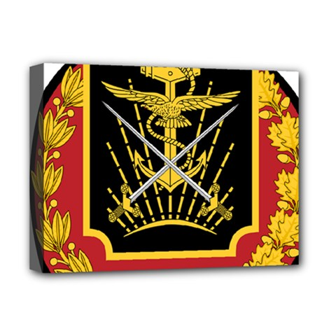 Logo Of Imperial Iranian Ministry Of War Deluxe Canvas 16  X 12