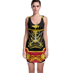 Logo Of Imperial Iranian Ministry Of War Bodycon Dress