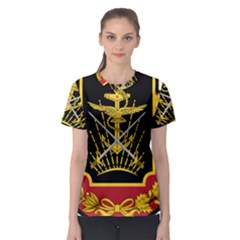 Logo Of Imperial Iranian Ministry Of War Women s Sport Mesh Tee