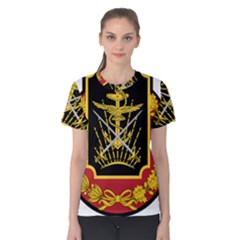 Logo Of Imperial Iranian Ministry Of War Women s Cotton Tee