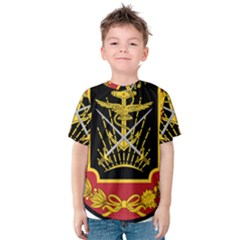 Logo Of Imperial Iranian Ministry Of War Kids  Cotton Tee