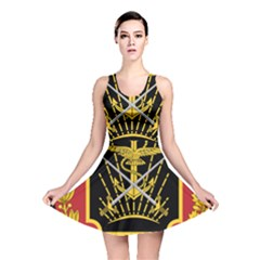 Logo Of Imperial Iranian Ministry Of War Reversible Skater Dress