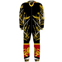 Logo Of Imperial Iranian Ministry Of War Onepiece Jumpsuit (men)