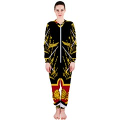 Logo Of Imperial Iranian Ministry Of War Onepiece Jumpsuit (ladies)