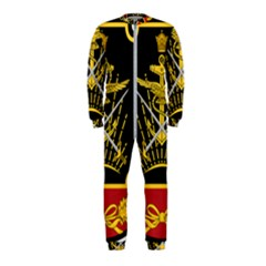 Logo Of Imperial Iranian Ministry Of War Onepiece Jumpsuit (kids)