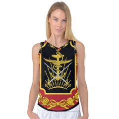 Logo Of Imperial Iranian Ministry Of War Women s Basketball Tank Top