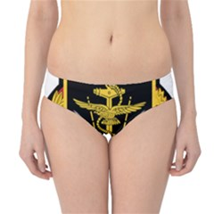 Logo Of Imperial Iranian Ministry Of War Hipster Bikini Bottoms