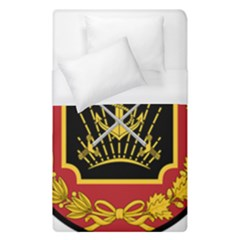 Logo Of Imperial Iranian Ministry Of War Duvet Cover (single Size)