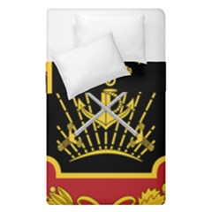 Logo Of Imperial Iranian Ministry Of War Duvet Cover Double Side (single Size)
