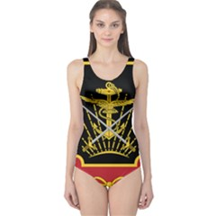 Logo Of Imperial Iranian Ministry Of War One Piece Swimsuit