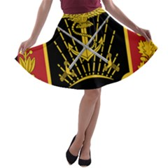Logo Of Imperial Iranian Ministry Of War A Line Skater Skirt
