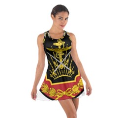 Logo Of Imperial Iranian Ministry Of War Cotton Racerback Dress