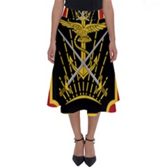 Logo Of Imperial Iranian Ministry Of War Perfect Length Midi Skirt