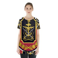 Logo Of Imperial Iranian Ministry Of War Skirt Hem Sports Top