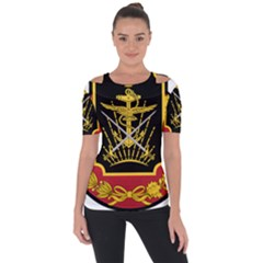Logo Of Imperial Iranian Ministry Of War Short Sleeve Top