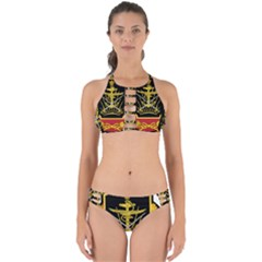 Logo Of Imperial Iranian Ministry Of War Perfectly Cut Out Bikini Set