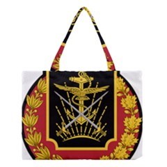 Logo Of Imperial Iranian Ministry Of War Medium Tote Bag