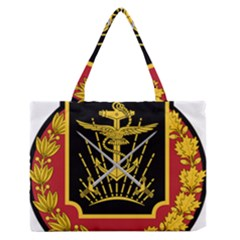 Logo Of Imperial Iranian Ministry Of War Zipper Medium Tote Bag