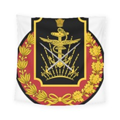 Logo Of Imperial Iranian Ministry Of War Square Tapestry (small)
