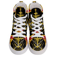 Logo Of Imperial Iranian Ministry Of War Women s Hi Top Skate Sneakers