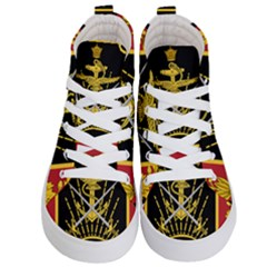 Logo Of Imperial Iranian Ministry Of War Kid s Hi Top Skate Sneakers