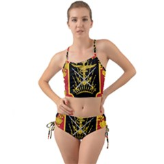 Logo Of Imperial Iranian Ministry Of War Mini Tank Bikini Set