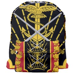 Logo Of Imperial Iranian Ministry Of War Giant Full Print Backpack