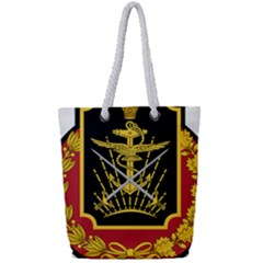 Logo Of Imperial Iranian Ministry Of War Full Print Rope Handle Tote (small)
