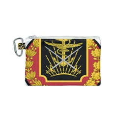 Logo Of Imperial Iranian Ministry Of War Canvas Cosmetic Bag (small)
