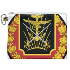 Logo Of Imperial Iranian Ministry Of War Canvas Cosmetic Bag (xxl)