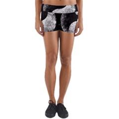 Grunge Yin Yang Yoga Shorts
