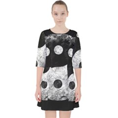 Grunge Yin Yang Pocket Dress