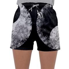 Grunge Yin Yang Sleepwear Shorts