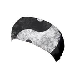 Grunge Yin Yang Yoga Headband