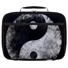 Grunge Yin Yang Full Print Lunch Bag