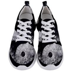 Grunge Yin Yang Men s Lightweight Sports Shoes